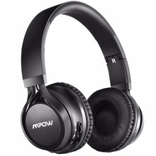 Mpow Thor Bluetooth 4.1 Headphones Foldable Wireless Stereo Music Headset with Soft Protein Ear Pads, Mic, Wireless & Wired Mode(China)