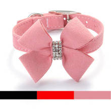pink spiked dog collars collar for small dogs pet(China)