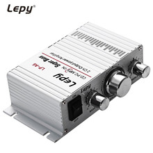 Lepy LP-A6 Mini 2 Channal Hi-Fi Stereo Audio Amplifier Car Home Output Power Volume Control Speaker for Mobile phone MP3 MP4 PC