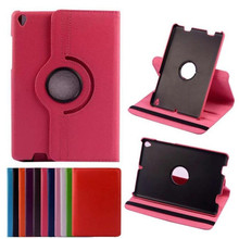 For Xiaomi Mipad 1 / Mi Pad One Tablet Case 360 Rotating Bracket Flip Stand Leather Cover