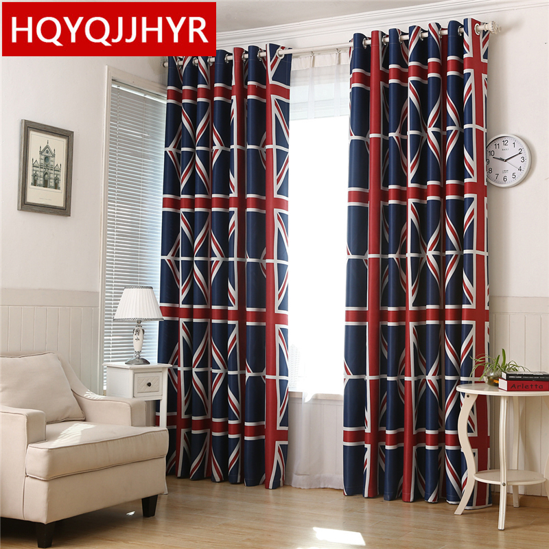 The New 2016 Meter Word Printed Curtains For Living Room Sheer Kitchen Window