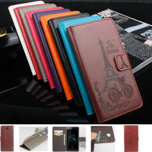 Buy Tower Pattern Series Luxury high PU leather case HomTom HT10 Bag Cover Shield Case HomTom HT10 for $4.98 in AliExpress store