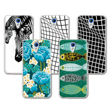 Hot Sale Lovely Painting Case For HTC 620 620G, Colorful funda Soft Silicone Skin Cover For HTC Desire 820 Mini D820mu