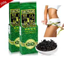 Oil Cut Black Oolong Tea Chinese Weight Loss Tea Scraper Cellulite Slimming Whitening Beauty Black Tieguanyin Oolong Tea Sets