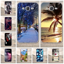 TPU Soft Phone Case for Samsung Galaxy J5 J500 2015 Back Cover Luxury Fundas 3D Cartoon for Coque Galaxy J500 Mobile Phone Case