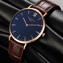 ROSEFIELD Top Watches Men Luxury Brand Quartz Watches Men Leather Watch Business Casual Wristwatch Male Clock Relogio Masculino