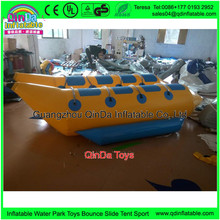 8 Person Inflatable Ski Flotation 2 Tube Banana Boat Towables Water Wave Surf Game Riding Water Game