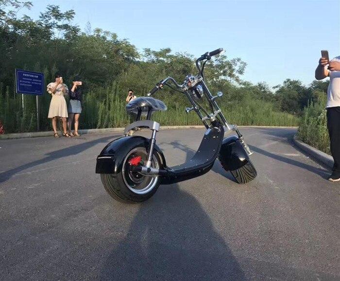2018 Новый 60 В 20ah электрический самокат для взрослых передние и задние амортизации