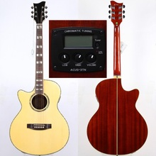 high grade left hand ltdmodel acoustic guitar with electric tuner(China)