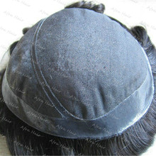 Men Hair Toupee Swiss Lace pu Around Injected for Short Men Hair Pieces  H026
