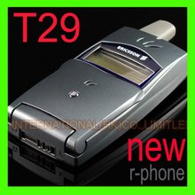 Refurbished Original 2G GSM 900/1800 Unlocked Ericsson T29 Mobile Cell Phone & Only English Language(China)