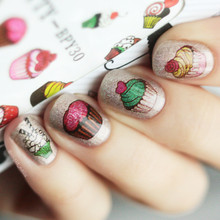 2 Patterns/Sheet BORN PRETTY Floral Water Decals Flower Pattern Nail Art Water Transfer Stickers Manicure Nail Art Decorations