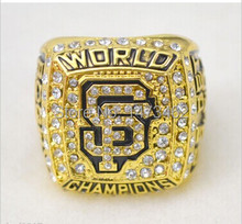 2012 San Francisco Giants baseball championship rings size 11