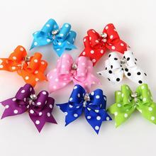 Pet Supplies Products Handmade Dog Accessories Pet Hair Bows Dog Show Supplies Pet Hair Bows Rubber Bands Big Size Fashion(China)