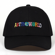 100% Cotton ASTROWORLD Baseball Caps Travis Scott Unisex Astroworld Dad Hat Cap High Quality Embroidery Man Women Summer Hat(China)