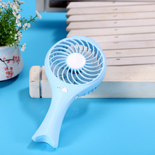 Mini HandHeld Fish USB Battery Rechargeable Fan Cooling Air Conditioning Fan Handheld Micro Cooler For Home Office(China)