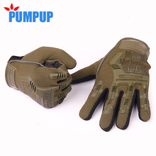 2016 Men's Full Finger Mechanix Gloves US Army Tactical Anti-Slip Outdoor Sports Training Cut-Resistant Training Mittens