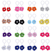 Baby Girls Barefoot Pearl Flower Foot Band Toe Rings Floral Wedding Sandals Socks Anklets Prop Headband Hair Band Accessories
