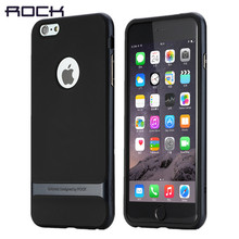 for iphone 6 case ROCK Original Royce Hard PC+Soft TPU Silicone Case Luxury Back Cover Phone Cases for iphone 6s 6plus 6s plus