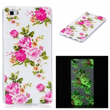 For Huawei P8 lite P9 lite P8lite P9lite ALE-L21 ALE-L04 Mobile Phone Case Cover TPU Casing Housing Luxury 3D noctilucent