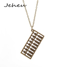 Fashion Creative Jewelry Abacus Pendant Necklace Accessories for Women