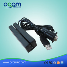 (CR1300-RU) USB for power Serial for data communication Hico Loco Electronic Magnetic Slot Card Reader