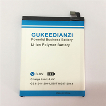 GUKEEDIANZI BT61 (L version) Phone Battery For Meizu Meizy M3 Note L681 L681H Rechargeable High Capavity 4100mAh Battery(China)