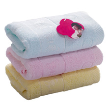 2016 household washcloth yarn cotton towel Soft and comfortable butterfly cotton towel Absorbent Dry Bath Towel FP8