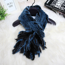 Svadilfari Winter 2017 New Arrival Women 100% high quality  Real Rex Rabbit Fur shawl Scarf Warm snood natural fur wraps