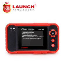 Launch CRP123 Auto Code Reader Update Online LAUNCH X431 Creader CRP 123 ABS, SRS, Transmission and Engine Car Scan Tool(China)