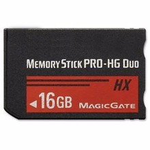 Memory Stick MS Pro Duo Memory Card for Sony 16GB for PSP and Cybershot Camera