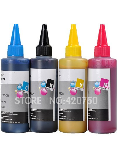 100ML*4 Pigment refill ink Specialized suit for Hp 950 951 , water proof refill ink suit for HP 8100 8600 8610 8620 8630<br>