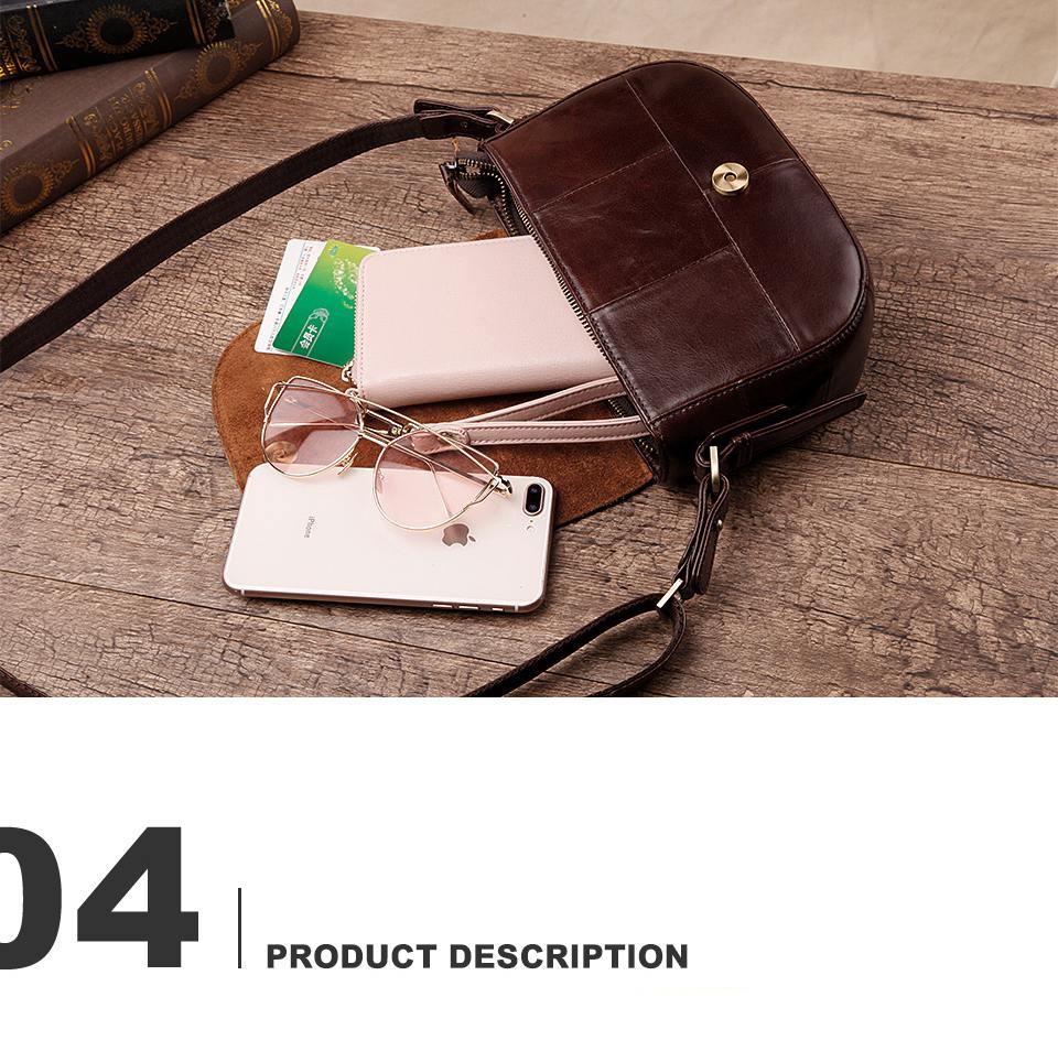 حقيبة جلد طبيعي للنساء 11