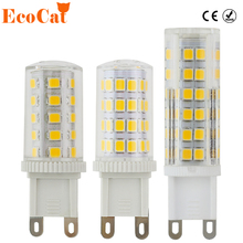 ECO Cat G9 LED lamp AC 220v LED bulb Crysta 5W 7W 9W SMD 2835 3014 led light for Chandelier spotlight replace halogen lamp