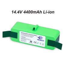Melasta 4.4Ah 14.4V Liion Battery with Import Cells for iRobot Roomba 500 600 700 800 Series 510 530 531 532 620 650 770 870 880