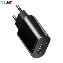 Buy Olaf Universal USB Charger EU Plug Travel Wall Charger Adapter Smart Mobile Phone Charger iPhone Samsung Xiaomi Tablet for $1.99 in AliExpress store