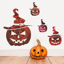 Hot sale Halloween home Room Wall Sticker halloween wall sticker DIY home decoration accessories halloween decal wall stickers(China)