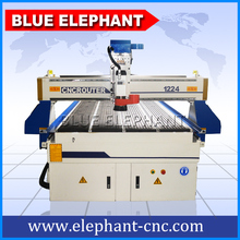 ELE1224 Woodworking CNC router, heavy duty body, making 3d relief, sculpture, doors, furniture, etc.
