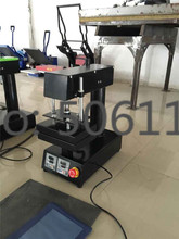 "New Small 6""X8"" Pneumatic Auto Heat Press Transfer Machine for Sticker Label CE"