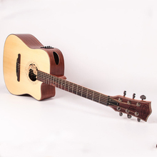 41 inch Auditorium Spruce top electric acoustic guitar musical instrument wolesale oem ems