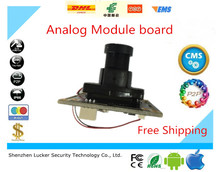 Luckertech Secure CCTV Analog Module board with IR-CUT Lens Focused 800TVL Surveillance 3006+8510 Stable and mature solution