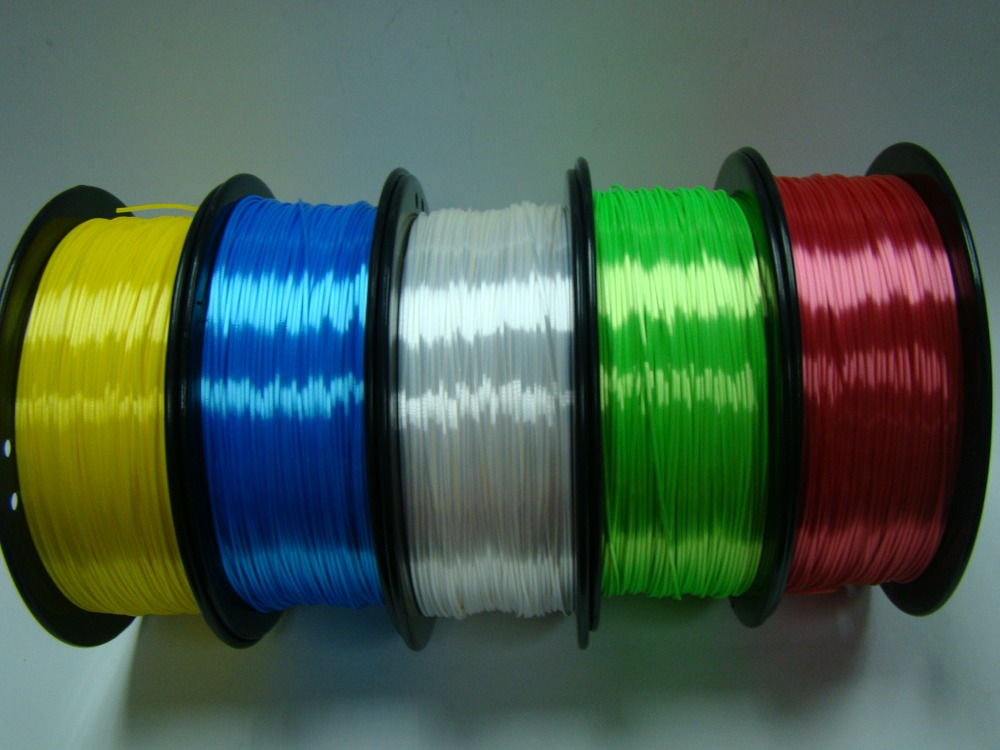 2017 New Polymer Composites Imitation silk filament For MakerBot RepRap UP Mendel 3D Printer<br>