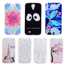 AKABEILA Phone Skin Case Cover For Samsung I9500 Galaxy S4 SIV I9505 TPU Painted Soft Phone Covers GT-I9500 S4 CDMA SCH-I545(China)