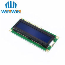 Free shipping 10pcs/lot New 1602 16x2 Character LCD Display Module HD44780 Controller blue blacklight IN STOCK(China)