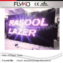Flyko LED manufacturer led panel display board china sex video high brigtness sexy movie display(China)