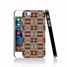 14310 native american fabrics protective Cover cell phone Case for iPhone 4 4S 5 5S 5C SE 6 6S Plus 6SPlus