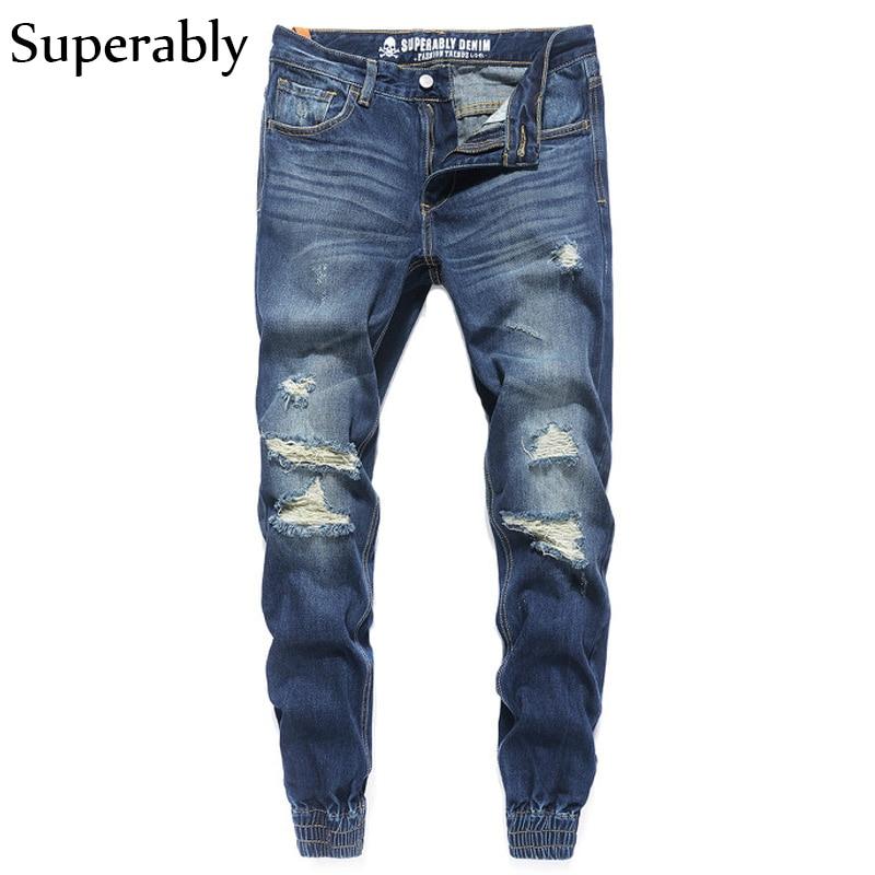European American Fashion Street Men Jeans Cargo Pants Youth Stylish Blue Color Denim Jogger Jeans Men Brand Skateboard PantsÎäåæäà è àêñåññóàðû<br><br>
