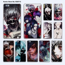 Rize and Kaneki ken Tokyo Ghoul design hard transparent Cover Case for huawei P10 Plus P8 P9 Lite Mate 9 S 8 7 phone case(China)