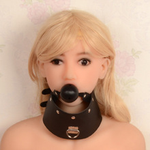 Buy Open Mouth Gag Ball gag, adult sex restraints mouth gag,Neck sex slave mouth plug, Harness adult game Sex Products