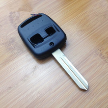 Free shipping 2 Button Remote Key Shell For Subaru Forester Impreza Legacy Key Cover Case NSN14 Blade